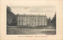 CPA 61 Orne Environs De Courtomer Chateau De La Genevraie - Courtomer
