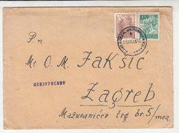 Zvonimir Jakšić A Political Prisoner And Family Correspondence Mitrovica & Belgrade 1945-46 B191210 - Croazia