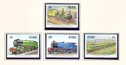 IRELAND  -  1984 Trains Set  Unmounted/Never Hinged Mint - Unused Stamps