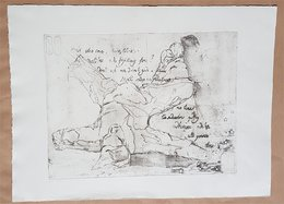 Screen Print / Sérigraphie / Zeefdruk Chris 40 X 53 Cm² - Prenten & Gravure