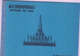 LAOS - 1964 - FOLKLORE SOUVENIR SHEET IMPERF MNH IN FOLDER - Laos