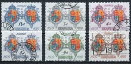Bermuda Elizabeth II 1959 Set To Celebrate The '350th Anniversary Of The First Settlement'. - Bermuda