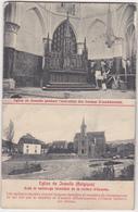 Réfection L'église De Jemelle Belgique Par Andernach à Anvin France - Architecte Jh Dehan Dépliant 4 Vues 9x14 BE 1908 - Unclassified