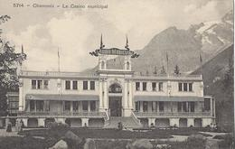74 CHAMONIX MONT BLANC CASINO MUNICIPAL EDITEUR BURGY LB 5714 - Chamonix-Mont-Blanc