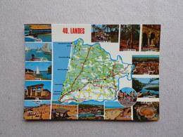 40 Département Des LANDES D'après Carte Michelin N°989 - Sonstige Gemeinden