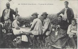 Niort - Vouillé - Groupe De Cultivateurs - Agriculture - Paysans - Niort