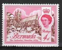 Bermuda Elizabeth II 1962 Single 4d Stamp From The Definitive Set. - Bermuda