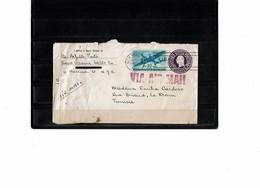 LCTN59/LE/2 - USA ENVELOPPE NEW YORK / TUNIS 22/10/1942 CENSURE - 1941-60