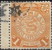 CHINA 1898 Dragon  - 1c - Buff FU - China