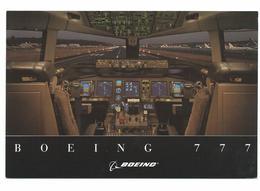 COCKPIT BOEING 777 FLIGHT DECK - CPA D'ORIGINE  Voir Detail Annonce - Aerei