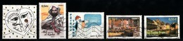 France 2008 : Timbres Yvert & Tellier N° 4128 - 4145 - 4152 - 4165 - 4167 - 4170 - 4175 - 4176 - 4181 Et 4218 Avec Oblit - Oblitérés