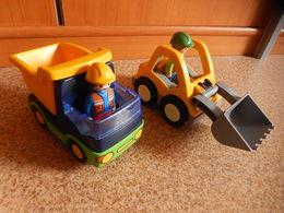 2 Vehicules PLAYMOBIL 1er Age - Playmobil