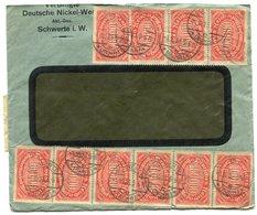 RC 14924 ALLEMAGNE 1923 INFLATION LETTRE DE SCHWERTE B/TB - COVER - Deutschland