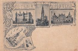 ANVERS - ANTWERPEN - 2 Cartes Multivues Souvenir D'Anvers. - Antwerpen