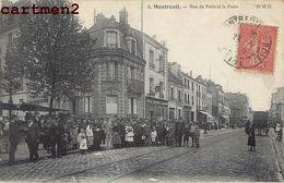 MONTREUIL RUE DE PARIS ET LA POSTE 93 - Montreuil