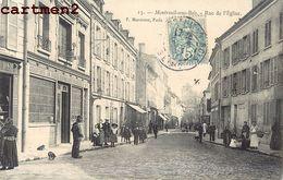 MONTREUIL-SOUS-BOIS RUE DE L'EGLISE 93 - Montreuil