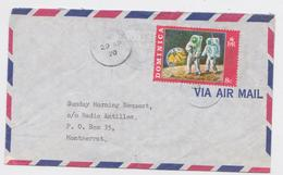 Dominica Air Mail Cover To Montserrat 29.04.1970 Space Stamp Timbre Espace - Dominica (...-1978)