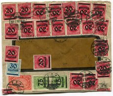 RC 14931 ALLEMAGNE 1923 INFLATION LETTRE DE UNNA B/ TB - COVER - Deutschland