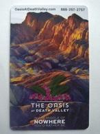 USA Hotel Key, The Oasis At Death Valley , Xanterra Parks & Resorts (1pcs) - Hotelkarten