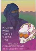 CHABERT Christian  - Paris Dakar Touareg  - CPM 10,5x15 TBE 1990 Neuve - Illustrateurs & Photographes