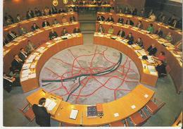 MAINZ - MAYENCE. CP Mairie Salle Du Conseil Municipal Ratsseel Mainzer Rathaus - Mainz