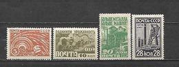 URSS - 1929 - N. 444/47* (CATALOGO UNIFICATO) - 1923-1991 USSR