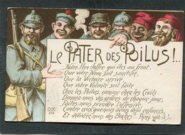 CPA - Illustration - LE PATER DES POILUS - Weltkrieg 1914-18