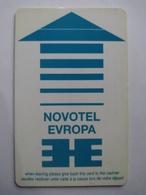 Bulgaria Hotel Key, Novotel , Sofia , (1pcs) - Hotelkarten