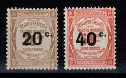 Taxe YV 49 & 50 N** Cote 115 Euros - 1859-1955 Mint/hinged