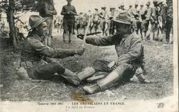 Militaria - Les Américains En France - Un Duel - Oorlog 1914-18