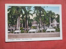 Simon Bolivar Park      Cartagena Colombia     Ref 3766 - Colombia