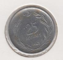 @Y@  Turkije    25     Kurus   1962    (4763) - Turquie