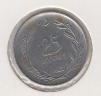 @Y@  Turkije    25     Kurus   1962    (4778) - Turquie