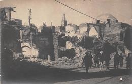 """SYRIE   -  DAMAS  -  Carte-Photo  -  L'Entrée Du Souk """" NOIR """"  Lors De La Révolte Druze En 1925 - Voir Le Dos - Syrië"""