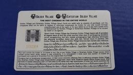 RRR CASH MOVIE CARD - JAMES BOND GOLDENEYES   - CINECARTE - RARE - Thailand