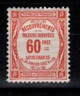 Taxe YV 48 N** Cote 9 Euros - 1859-1955 Mint/hinged