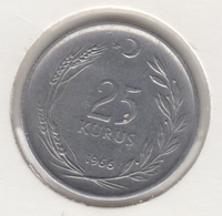 @Y@  Turkije    25     Kurus   1966    (4764) - Turquie