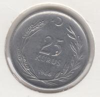 @Y@  Turkije    25     Kurus   1966    (4777) - Turquie