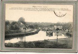 CPA - ROGNY (89) -Aspect Du Canal De Briare, De La Péniche Et Des Chemins De Halage En 1921 - France