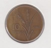 @Y@  Turkije  10   Kurus   1962    (4776) - Turquie