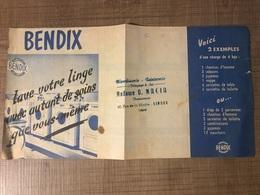 BENDIX Blanchisserie Automatique - Pubblicitari