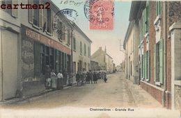 CHENNEVIERES GRANDE RUE EPICERIE MERCERIE C. JOLLIVET 93 - Francia