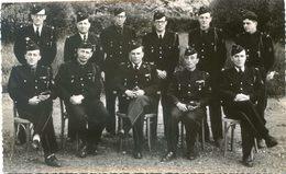 Militaria - Mai 1951 - Groupe D'officier Du 16 Genie Avec Un Calque Donnant Leur Nom à Localiser - Uniformes