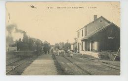 BRINON SUR BEUVRON - La Gare (belle Animation Avec Train ) - Brinon Sur Beuvron