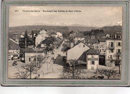 CPA - THONON-les-BAINS (74) - Aspect De L'entrée Du Bourg Et De La Bascule Côté Boulevard Des Vallées En 1913 - Thonon-les-Bains