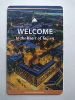 Estonia Hotel Key, Nordic Hotel Forum, Tallinn  (1pcs) - Hotelkarten