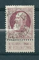 77 Gestempeld BRUXELLES AGENCE 32 - COBA 50 Euro - 1905 Grosse Barbe