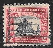 1925 Norse-American Issue, 2 Cents, Used - Estados Unidos