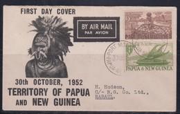 Papua New Guinea 1952 FDC - Papouasie-Nouvelle-Guinée