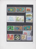 WALLIS ET FUTUNA Année 1993 Complète 18 T Neufs Xx  N° YT 444 à 461 - Wallis-Et-Futuna